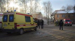 A tragédia em Ivanovo Fotos de Stock