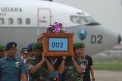 TRAGÉDIE D'AIRASIA QZ8501 Photographie stock libre de droits