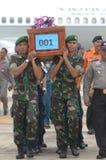 TRAGÉDIE D'AIRASIA QZ8501 Image libre de droits