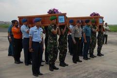 TRAGÉDIE D'AIRASIA QZ8501 Images libres de droits