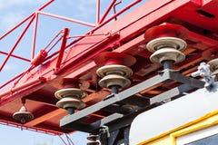 Tragbare Anlage des elektrischen Stroms Stockbild