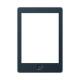 Tragbarer eBook Leser mit Beschneidungspfad zwei für Buch und Schirm Sie addieren möglicherweise Ihren eigenen Text oder Bild Stockbild