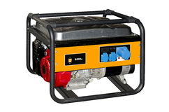Tragbarer Generator Stockfotos