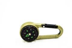 Tragbarer Kompass Lizenzfreies Stockbild