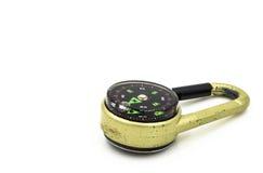 Tragbarer Kompass Lizenzfreie Stockfotos