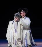 """Tragedia del acto de la venganza- octava que consigue a un niño-Kunqu recién nacido Opera""""Madame el  blanco de Snake†Fotos de archivo"""