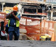 Tragedia del World Trade Center Imagen de archivo libre de regalías