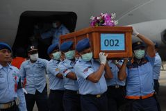 TRAGEDY OF AIRASIA QZ8501 Royalty Free Stock Images