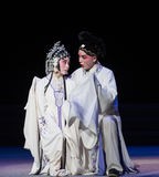 "Tragedy of vendetta-The eighth act getting a new born child-Kunqu Opera""Madame White Snake"" Stock Images"