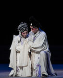 "Tragedy of vendetta-The eighth act getting a new born child-Kunqu Opera""Madame White Snake"" Stock Photo"