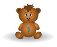 Tragen-Kind mit einem Bonbon Stockbild