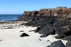 Tragen Sie Na-Bastrand, Insel von Mull lizenzfreie stockbilder