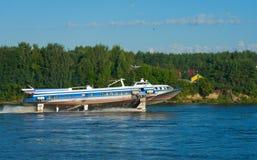 Tragflügelboot Stockbilder