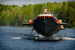 Tragflügelbootboot Lizenzfreies Stockbild