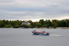 Tragflügelbootschiff Stockfotografie