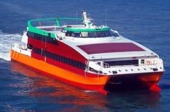 Tragflügelbootboot Stockfotografie