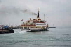 Traghetti di Costantinopoli Immagine Stock Libera da Diritti
