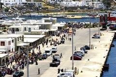 Traghetti veloci Andros fotografia stock libera da diritti