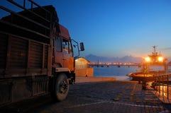 Traghetto Fotografia Stock Libera da Diritti