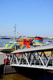 Traghetto al porto di traghetto, Liverpool Immagine Stock