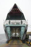 Traghetto al terminale Fotografie Stock