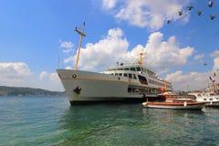 Traghetto a Costantinopoli Fotografia Stock Libera da Diritti