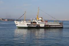 Traghetto a Costantinopoli Immagini Stock Libere da Diritti