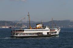 Traghetto a Costantinopoli Fotografie Stock