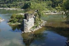 Traghetto dei Harpers - il fiume Potomac Immagine Stock Libera da Diritti