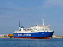 Traghetto del mare Fotografia Stock