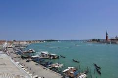 Traghetto del trasporto del mare esterno a Venezia Italia Immagine Stock Libera da Diritti