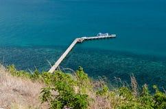 Traghetto dell'isola Fotografia Stock