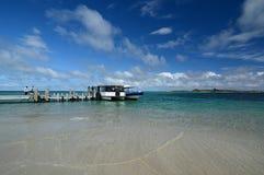 Traghetto dell'isola del pinguino Spiaggia di Shoalwater Rockingham Australia occidentale Immagini Stock