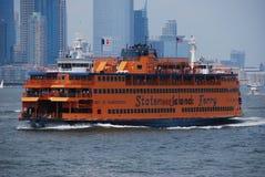 Traghetto dell'isola di Staten Fotografia Stock Libera da Diritti