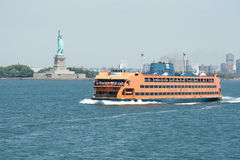 Traghetto dell'isola di Staten Immagine Stock