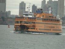 Traghetto dell'isola di Staten fotografia stock