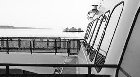 Traghetto dello Stato del Washington Fotografie Stock Libere da Diritti