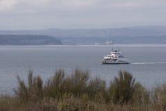Traghetto dello Stato del Washington Fotografie Stock