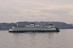Traghetto dello Stato del Washington Fotografia Stock