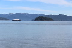 Traghetto dello stato dell'Alaska Immagine Stock Libera da Diritti