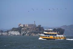 Traghetto di Alcatraz Fotografia Stock Libera da Diritti