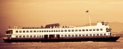 Traghetto di Barca Rio-Niteroi Fotografia Stock