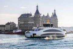 Traghetto di Costantinopoli Immagine Stock Libera da Diritti