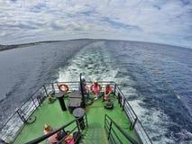 Traghetto di Inisheer Fotografie Stock