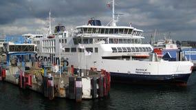 Traghetto di passeggero di Scandlines Fotografie Stock Libere da Diritti