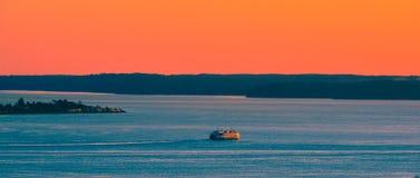 Traghetto di Seattle Immagine Stock