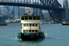 Traghetto di Sydney Fotografia Stock Libera da Diritti