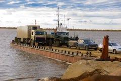 Traghetto di trasporto Fotografie Stock