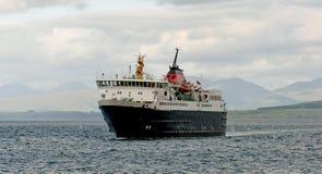 Traghetto in mare Fotografia Stock Libera da Diritti