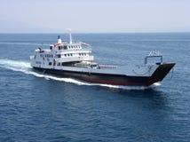 Traghetto nel Mediteranian Fotografie Stock